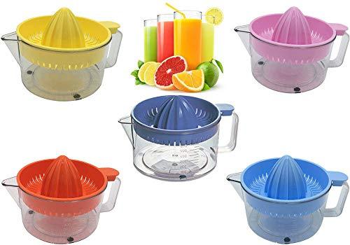in 5 Colors Manual Fruit JUICER Hand Press Juice JUG Citrus Lemon Lime Orange Squeezer