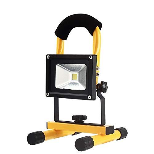 SYLOZ-URG 10W LED del Trabajo, luz de inundación del LED, 5 Modos Impermeable al Aire Libre luz de Emergencia, luz Recargable portátil, Utilizado for Acampar Pesca, etc URG