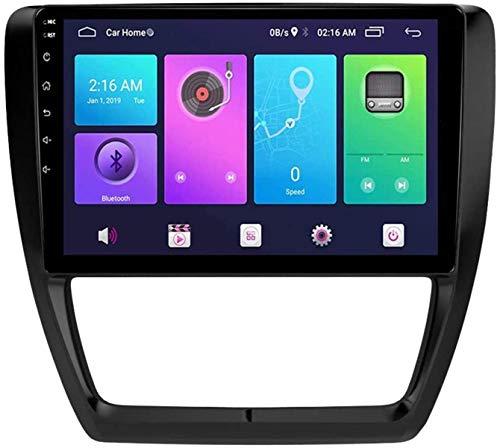 FDGBCF Sistema de navegación GPS para Volkswagen Sagitar 2017 Unidad Principal de navegación estéreo para Coche Android SWC 4G WiFi BT Enlace de Espejo USB Carplay Integrado