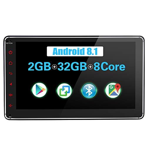 JOYFORWA Autoradio Android 8.1 2GB + 32GB 7 Zoll Single Din mit DSP/Easyconnect/Fast Boot/SPDIF