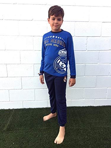 Pijama Real Madrid niños Invierno Tallas 6 a 16 (10)