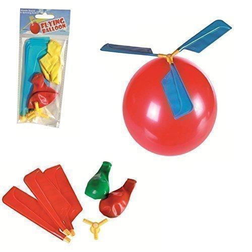 Ballon volant siffleur ! Un ballon qui vole comme un hélicoptère et qui siffle !