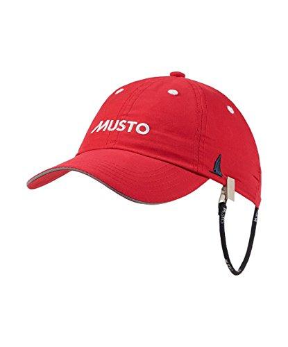 Musto Segelcap Fast Dry Crew Cap, Farbe:True red