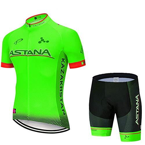 Hplights Maillot Ciclismo Hombre, Ropa Ciclismo y Culotte Ciclismo con Culotte Pantalones...
