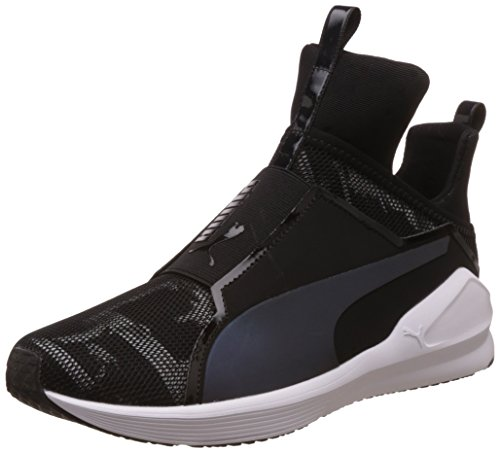 Puma Damen Fierce Swan Wn's Sneakers, Schwarz (Puma Black-Puma White 01), 39 EU