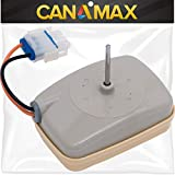 WR60X10141 Refrigerator Evaporator Fan Motor Premium Replacement by Canamax - Compatible with GE Hotpoint Models - Replaces WR60X23584 AP5955766 WR60X10346 PS10063450 WR60X10045 WR60X10046 WR60X10138
