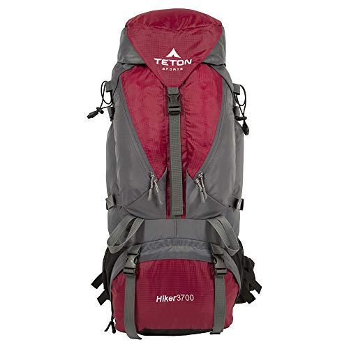 TETON Sports Hiker 3700 Ultralight Internal Frame Backpack; with a New Limited Edition Color; Free Rain Cover Included