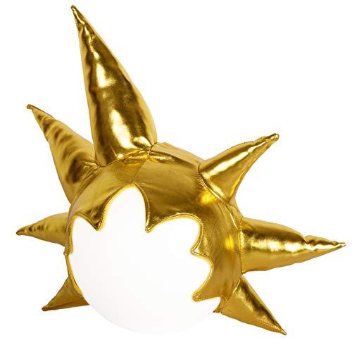 Gorro Sombrero de Felpa Peluca Oro para Son Goku Bola del dragón...