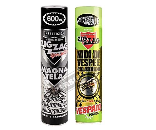 Zig-Zag Specialist - Magna Tela 600 ML - Vespaio Power, Insetticida, Insetticida per Nidi di Vespe e Calabroni 600 ml