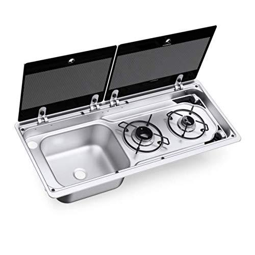 Dometic Smev 9722L Built in Hob/Sink Combination (Left Hand Sink)
