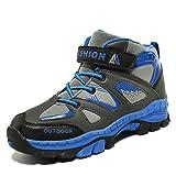 Niños Senderismo Zapatos Niños Invierno Al Aire Libre Camping Antideslizantes Zapatillas Altas Zapatillas de Trekking para niños
