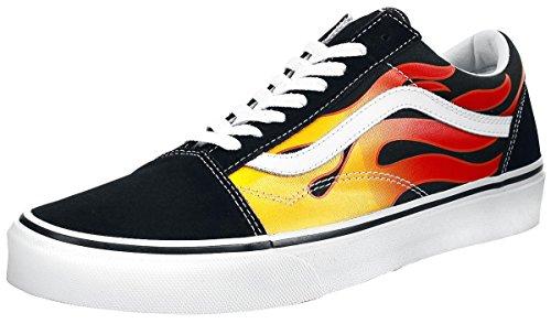 Vans ユニ オールドスクール (プライマリーチェック) スケートシューズ, ブラック/ブラック/トゥルーホワイト, 24.5