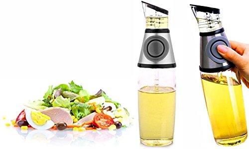 takestop® fles met deksel DOSATOR dispenser Star_18137 voor olie ACETI 500 ml PREMIMATE VERSARE