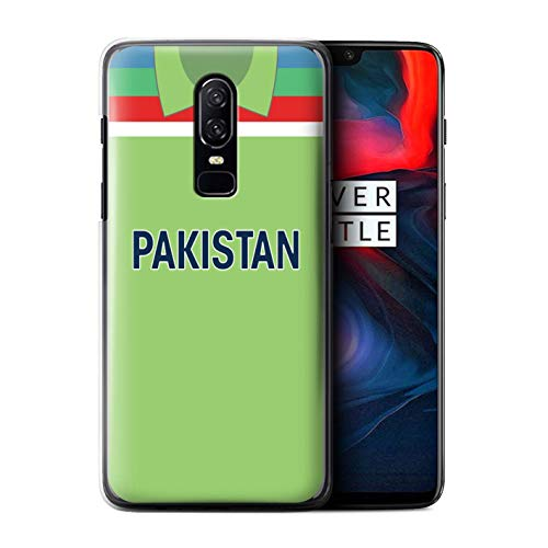 eSwish Phone Case/Cover for OnePlus 6 / Pakistan/Pakistani Design/Retro Cricket Kit World Cup 1992 Collection