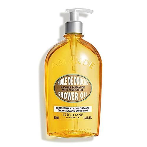 L Occitane Cleansing & Softening Almond Shower Oil, 16.9 Fl Oz