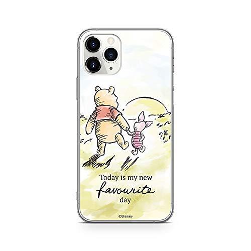 Original & Offiziell Lizenziertes Disney Winnie Puuh Handyhülle für iPhone 11 PRO, Hülle, Hülle, Cover aus Kunststoff TPU-Silikon, schützt vor Stößen & Kratzern