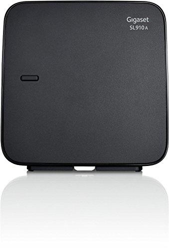 Gigaset SL910A / SL 910 A DECT Ersatz Basisstation analog mit Anrufbeantworter schwarz