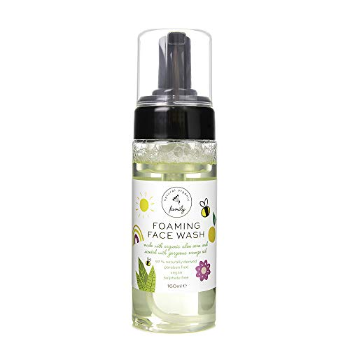 Gentle Kids Foaming Face Wash Organic – Natural - Vegan - Toxin-Free - Sulphate Free – Paraben Free - For Kids and Preteens