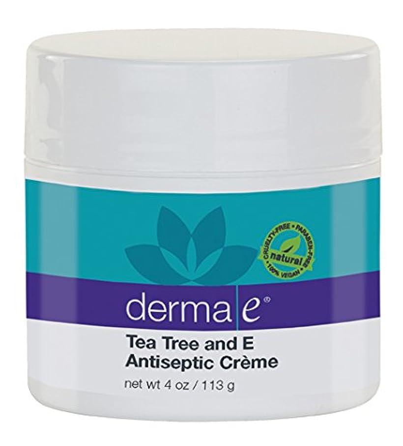 時々時々プランター露骨なDerma E Therapeutic Tea Tree & Vitamin E Antiseptic Cream 113g/4oz並行輸入品