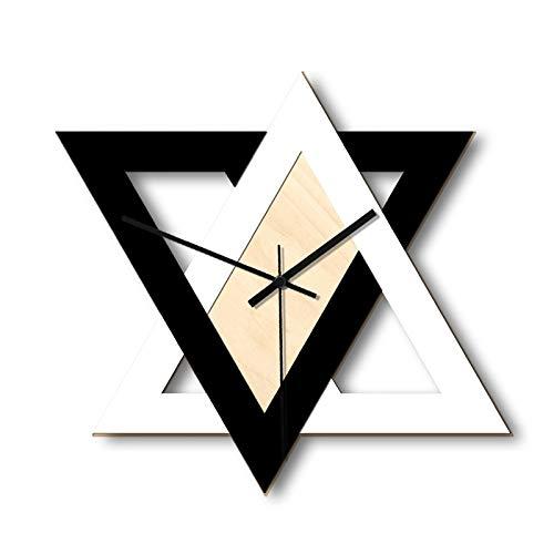 Reloj de Pared Personalidad nórdica Reloj de Pared Creativo en Blanco y...