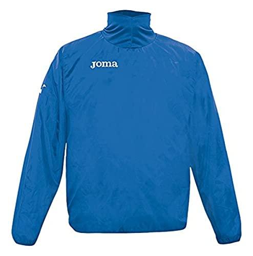 Joma Cortavientos Wind Polyester Chubasquero, Hombre, Azul Royal, L