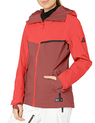 BILLABONG Damen Eclipse Snowboard Jacket Isolierte Jacke, rot, Groß
