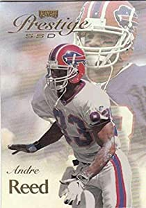 1999 Prestige SSD Football #B16 Andre Reed Buffalo Bills Official NFL Trading Card From the Playoff Corp