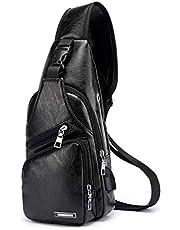 YFbear Crossbody tas borsttas sling crossbag rugzak schoudertas borsttas voor dames en heren daypack militaire sporttas
