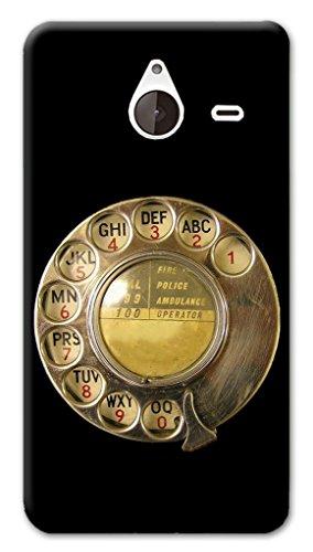 Mixroom - Cover Custodia Case In TPU Silicone Morbida Per Nokia Lumia 640 XL X368 Tastiera Telefono A Disco