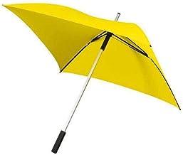 All Square handopening paraplu 94 cm geel