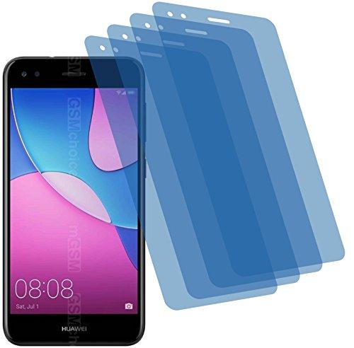 4ProTec I 4X Crystal Clear klar Schutzfolie für Huawei P9 Lite Mini Bildschirmschutzfolie Displayschutzfolie Schutzhülle Bildschirmschutz Bildschirmfolie Folie