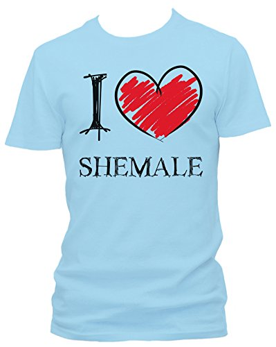 I Love Shemale Fun Herren T-Shirt_hellblau_M