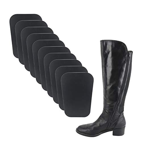 """Homend 5 Pairs (10 Sheets) Boot Shaper Form Inserts Boots Tall Support for Women and Men (1 Pair 12"""" Length; 1 Pair 14"""" Length; 3 Pairs 16"""" Length)"""