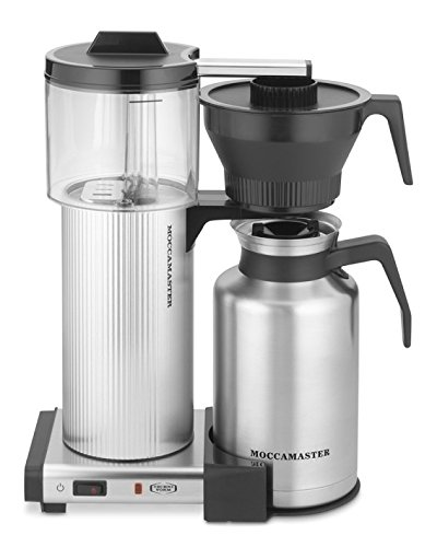 Technivorm 39340 CDT Grand 60, oz Brushed, Silver