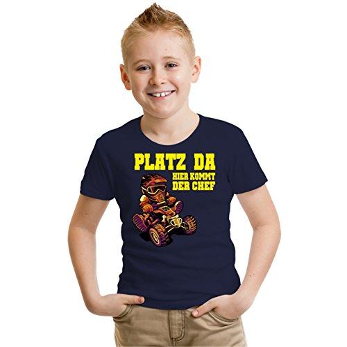 Kinder T-Shirt Platz Da Größe 86-164