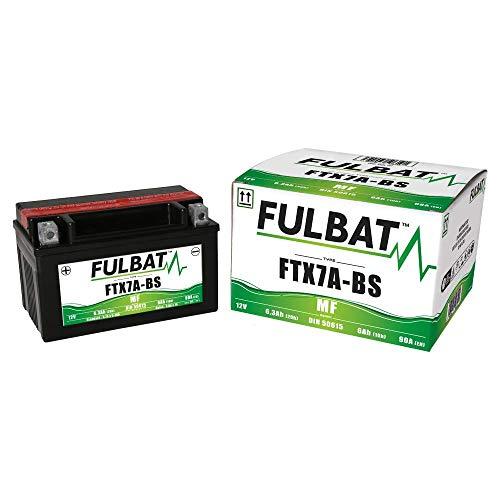 Fulbat - Motorrad Batterie Gel YTX7A-BS/FTX7A-BS 12V 6Ah