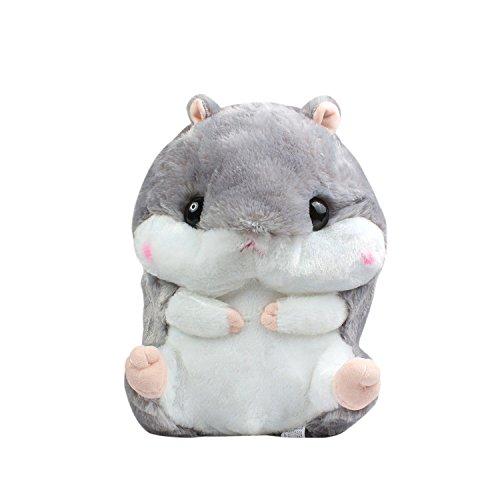 Missley Hamster Kissen Nettes kurzes Plüsches Hamster Kissen Super lustiges Geschenk für Freundin