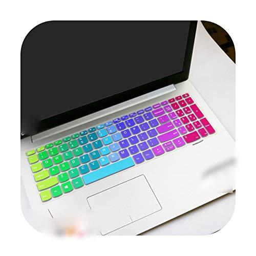 Dach für Lenovo Ideapad 330320320-17 330-17 17 3 Zoll HD – I5-8250U 17 Zoll Notebook Tastatur Schutzhülle für die Haut Rainbow
