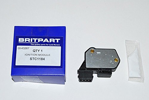 BRITPART IGNITION MODULE AMPLIFIER COMPATIBLE WITH LAND ROVER RANGE ROVER CLASSIC V8 PART # STC1184