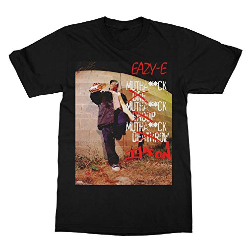 Its on 187 T Shirt Inspired by Eazy E 002 Black