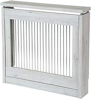 TOP KIT | Cubre radiador Cristian 3090-90 x 84 x 18 | Blanco Mozart