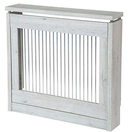 TOP KIT   Cubre radiador Cristian 3090-90 x 84 x 18   Blanco Mozart