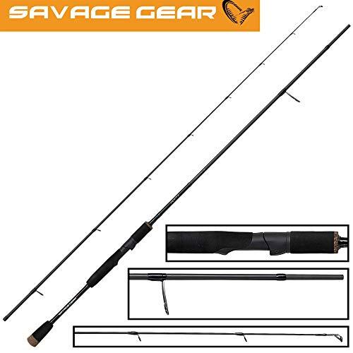 Savage Gear XLNT3 2,13m 10-40g - Spinnrute zum Angeln auf Zander, Barsche & Hechte, Angelrute zum Spinnfischen, Raubfischrute