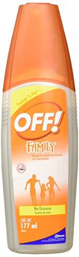 OFF! 528264 - Family Spray Loción, 177 ml