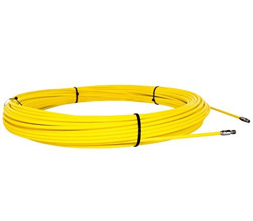 Runpotec 20312 - Recambio Guia Pasacables de fibra de vidrio de 4,5...