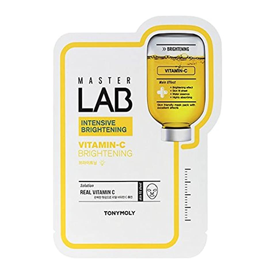 検査光景キウイTONYMOLY Master Lab Mask Vitamin C (Brightening) (並行輸入品)