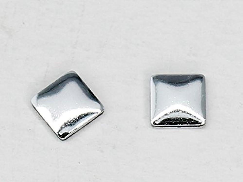 正しく好奇心ほめる10492 Hotfix(ホットフィックス) メタルスタッズ スクエア 3mm 50粒入 スワロフスキー/シルバー
