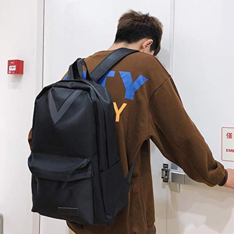 YZBB Schultasche mnnlicher Art und Weisetrend Koreanische Versionshochschulstudent Harajuku Ulzzang Pers5onlichkeitstraen-Schulterbeutel-Mdchen Rucksack