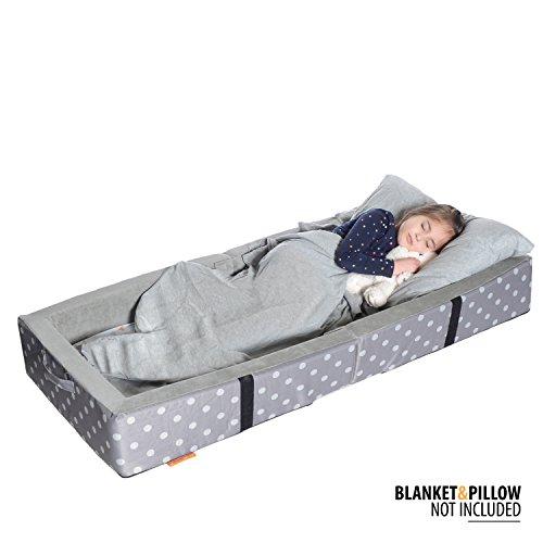 Milliard Portable Toddler Bumper Best Travel Toddler Bed
