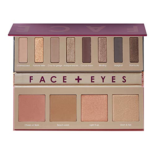 Sephora Collection Eyes&Face Palette Bronze Spectrum